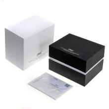 IWC High Quality Black Wooden Box Set with Guarantee