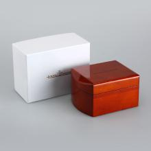 Jaeger-LeCoultre High Quality Dark Brown Wooden Box