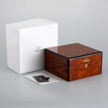 Breguet High Quality Dark Brown Wooden Box Set with Instruction Manual