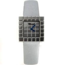 Chopard Ice Cube Swiss ETA Movement with Silver Strap-Lady Size