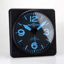 Bell & Ross BR01-92 Wall Clock with Blue Markers