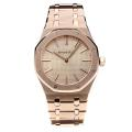 Audemars Piguet Royal Oak Automatic Full Rose Gold with Champagne Dial-18K Gold Plated Movement-1
