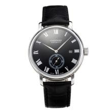 Chopard Classic Automatic with Black Dial Leather Strap