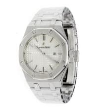 Audemars Piguet Royal Oak Swiss ETA Movement with White Dial S/S