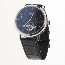 Piaget Altiplano Tourbillon Automatic with Black Dial-Leather Strap