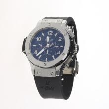 Hublot Big Bang Automatic with Black Carbon Fibre Style Dial-Rubber Strap