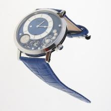 Piaget Altiplano with Blue Dial-Leather Strap
