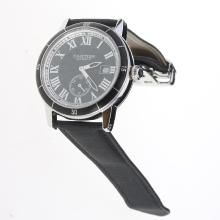 Cartier Ronde Croisière de Cartier Automatic with Black Dial-Nylon Strap