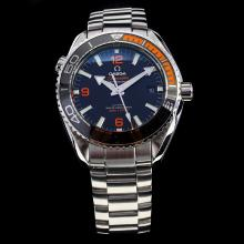 Omega Seamaster Swiss Calibre 8900 Automatic Movement Ceramic Bezel with Black Dial S/S-1