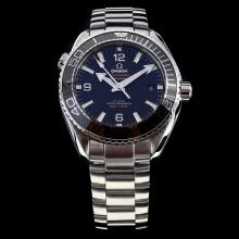 Omega Seamaster Swiss Calibre 8900 Automatic Movement Ceramic Bezel with Black Dial S/S