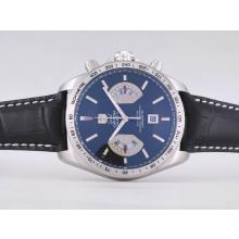 Tag Heuer Grand Carrera Calibre 17 Working Chrono with Black Dial Same Structure As 7750-High Quality