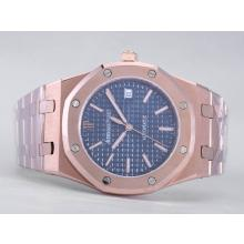 Audemars Piguet Royal Oak Jumbo Swiss ETA 2824 Movement Full Rose Gold-39mm Version-1