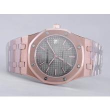 Audemars Piguet Royal Oak Jumbo Swiss ETA 2824 Movement Full Rose Gold-39mm Version