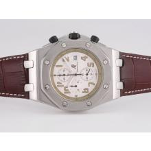 Audemars Piguet Royal Oak Offshore Working Chronograph with White Dial-1