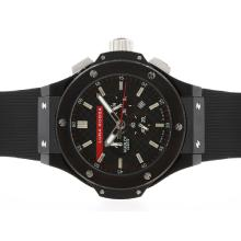 Hublot Big Bang Luna Rossa Working Chronograph PVD Case with Black Carbon Fibre Style Dial 48MM Version