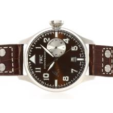 IWC Big Pilot Working Power Reserve with Brown Dial and Strap-Antoine St Exupery Limited Edition