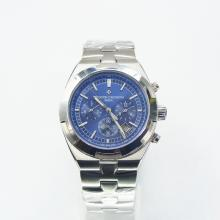 Vacheron Constantin Overseas Automatic with Blue Dial S/S