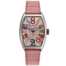 Franck Muller Crazy Hours Color Dreams Automatic with Pink Dial