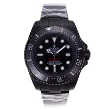 Rolex Sea Dweller Automatic Full PVD with Black Dial and Ceramic Bezel