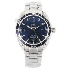 Omega Seamaster Planet Ocean Automatic with Black Bezel and Dial S/S